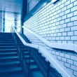 Stairway upwards - Stock Photo