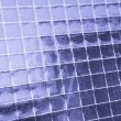 Metallic net in glass — Stock Photo