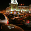 Stock Photo: Moscow, Night, Triumphalnayploschad