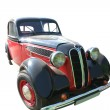 Red - Black Car from 1930 — Stock Photo