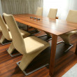 Stock Photo: Modern Dining Room