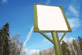Billboard with copy-space — Stock Photo
