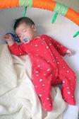 Baby sweetly sleeps — Stock Photo