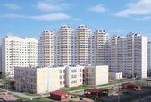 Yeni yüksek katlı konut, rusya, moskova — Stok fotoğraf