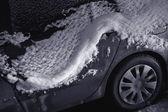 Car under the Snow — Стоковое фото