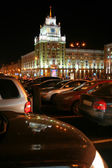 Moscow, Night, Triumphalnaya ploschad — Stock Photo