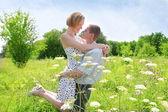 Two beautiful lovers — Stock Photo