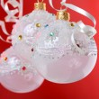 Christmas baubles - Stock Photo