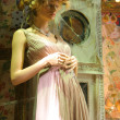 Feminine pretty mannequin - Stockfoto