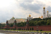 Russia, Moscow, Red Kremlin Wall — Stock Photo
