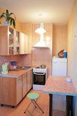 Küçük mutfak iç — Stok fotoğraf