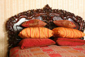 Vintage bed — Stock Photo