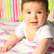 Smiling baby — Stock Photo