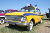 Vintage Militia Car USSR 1970s — Stock Photo