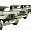 Vintage Military Cars 40 — Stock Photo #1410312