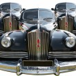 Three Vintage Russian Car - Stock Photo