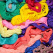 Silk threads - Stockfoto