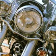 Shining Motorcycle — Stockfoto