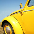 Old-time Yellow Car 1960 — Stock Photo