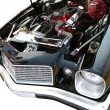 Engine of Sport Car 70th — Stock Photo