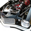 Engine of Sport Car 70th - Stock Photo