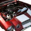 Stock Photo: Engine of the Sport Car