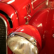voiture rouge Old-Time — Photo