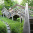 Romantic Landscape with Stairway — Stock Photo