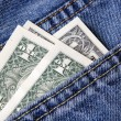 Money, Pocket — Stock Photo