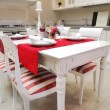 Stock Photo: Trendys kitchen in country style