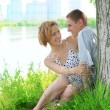 Two beautiful lovers - Foto Stock