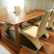 Trendys dining room — Stockfoto