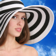 Woman in hat — Stock Photo #1415884