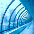 Futuristic corridor - Stock Photo