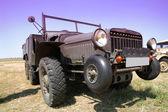 Auto speciale militari d'epoca — Foto Stock