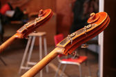 Fragment of the contrabass — Stock Photo
