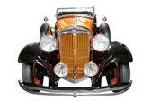 Vintage rode auto — Stockfoto