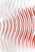 Doku, dalgalar, kırmızı bantları — Stok fotoğraf