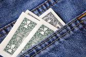 Money, Pocket — Stock Photo