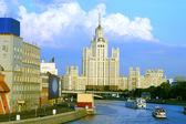Skyscraper on the Kotelinicheskaya quay — Stock Photo