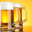 Two beer — Stock Photo