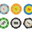 Casino chips — Stock Photo