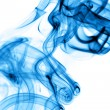 Royalty-Free Stock Photo: Blue smoke