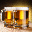 Beer mugs - Foto de Stock