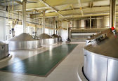 Modern brewery — Stock Photo