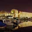 Eilat at night - Stock Photo