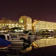 eilat at night — Stock Photo