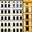 Colorful buildiugs - Stock Photo