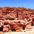 Petra town - Stock Photo
