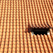 Tiled roof — Foto Stock